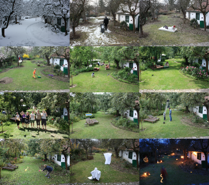 12 Monate ein Blick - Waldviertler Garten im Jahreslauf