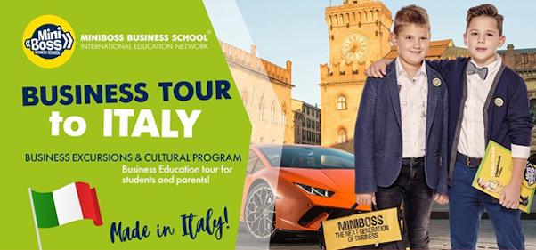 Бизнес-тур в Италию MINIBOSS