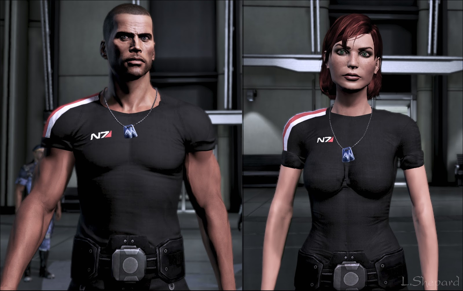 Idea and shepard naked body mass effect phrase... super
