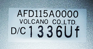 Boiler Flame eye volcano AFD115A0000 D/C 1336Uf VOLCANO CO., LTD