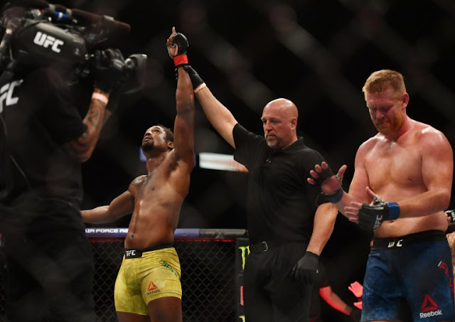 Ryan Spann Defeats Sam Alvey UFC 249