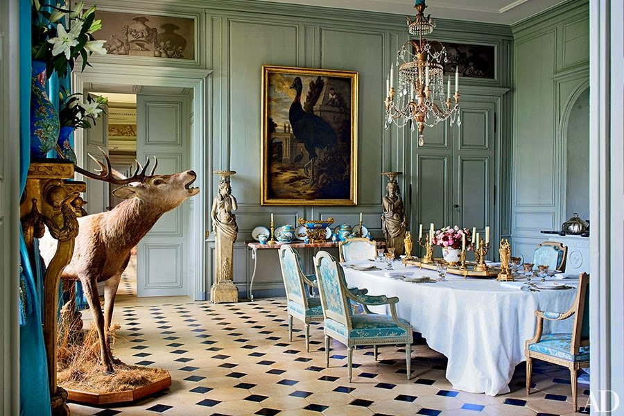 Decor Inspiration | La Renaissance Du Château   Grand Interiors