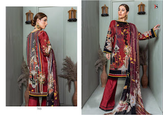 Deepsy Firdous Vol 9 Jaam Cotton Pakistani Suits Collection