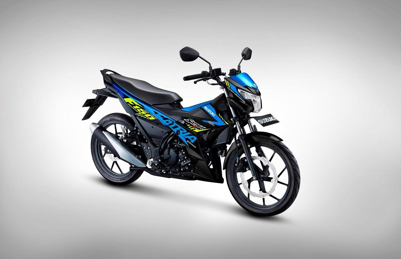 Suzuki Hadirkan Gaya Baru Pada All New Satria F150