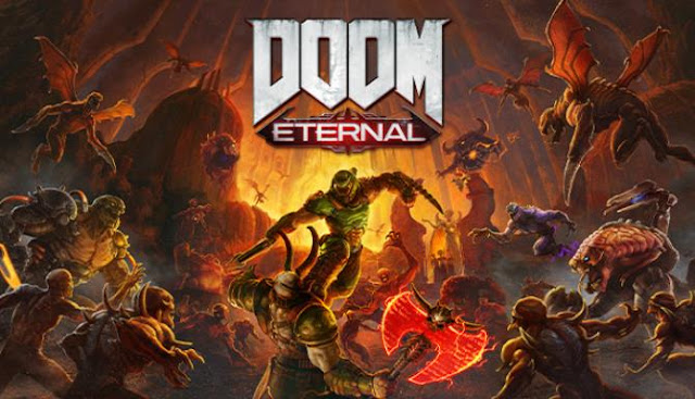 Doom Eternal continues the war with the demons. Confront the hordes of monsters to be alone.