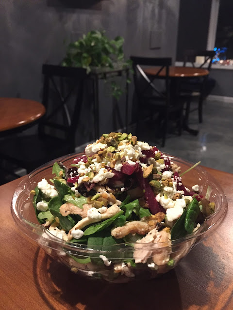 Stunning and delicious Coquelicot Chicken Salad II ready to go! Image credit Coquelicot.