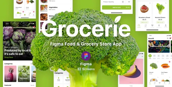 Best Food & Grocery Store App