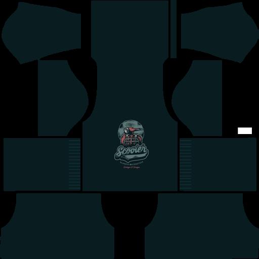 Baju DLS Distro Vespa