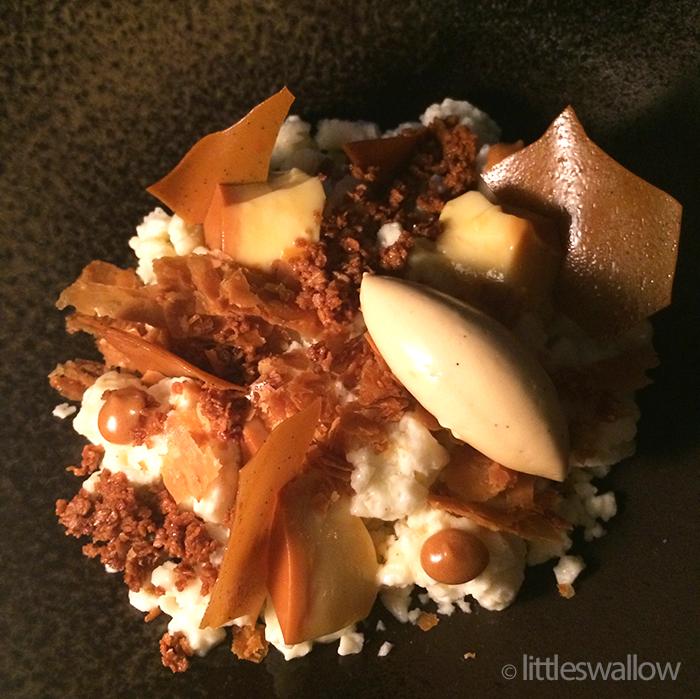 Bennelong, Sydney: Crème caramel vs mille-feuille