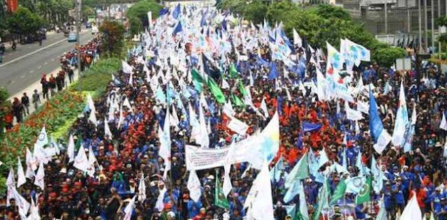 May Day 2019, 50 Ribu Buruh Kepung Istana Negara