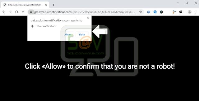 Get.exclusivenotifications.com pop-ups