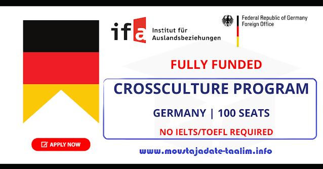 فرصة للمشاركة في برنامج  CrossCulture 2021 في ألمانيا (ممولة بالكامل)