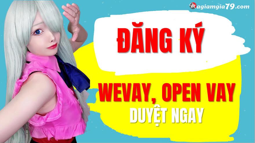 Wetien, App face vay,  F668,  Open vay