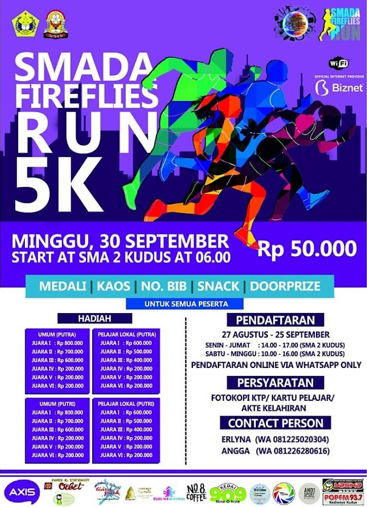 Smada Fireflies Run • 2018