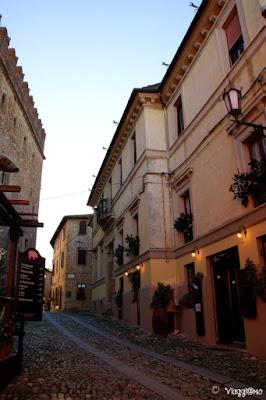 Centro del borgo di Castell'Arquato
