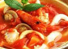 Resep praktis (mudah) sup seafood spesial (istimewa) enak, gurih, sedap, nikmat lezat