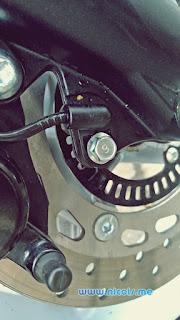 Sensor kecepatan dan ABS Nmax