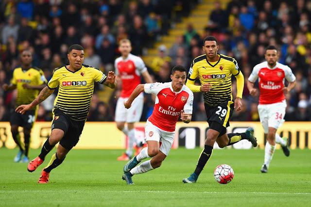 Live streaming ringan Arsenal vs Watford  2 April 2016