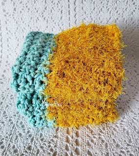 Handmade Cotton Dish Cloths Scrubbie