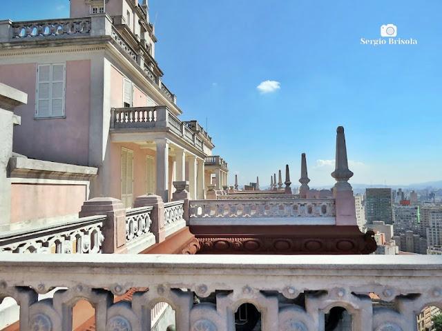 Vista ampla dos Terraços do Edifício Martinelli - Centro Histórico de São Paulo