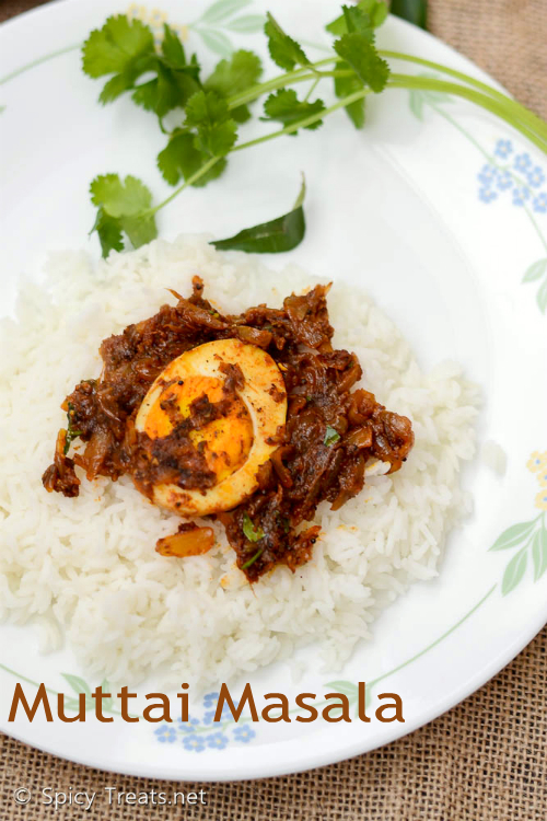 Muttai(Egg) Masala