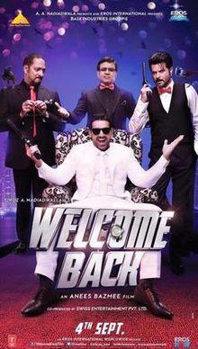 Shruti Haasan, John Abraham New Upcoming movie Welcome Back release 2015 Poster