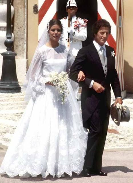 Caroline de Monaco e primeiro marido