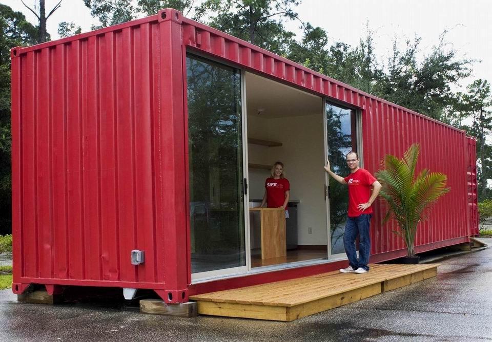 Urbano containers para vivir el dia a dia - 40ft shipping container home ...