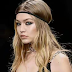 Gigi Hadid suffers nip slip as she models Versace (Photos)