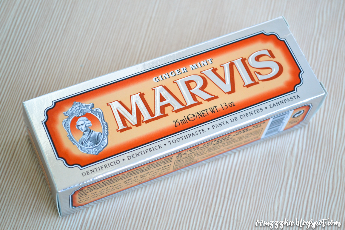 Marvis Ginger Mint Toothpaste Review