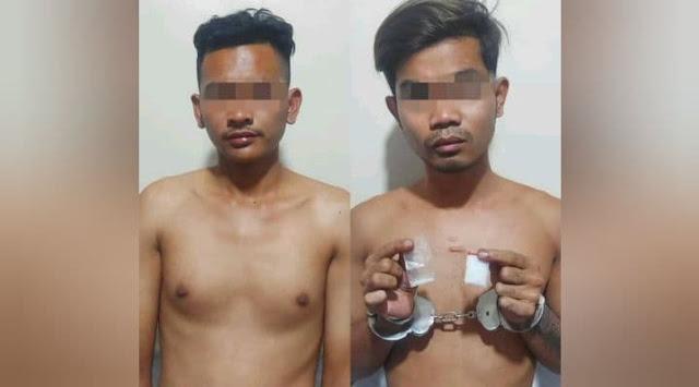 Polisi Bekuk Dua Pemuda di Sentani Bawa Sabu 3,3 Gram