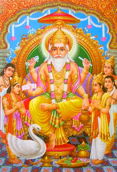 Brahma, The Creator.