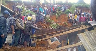 ضحايا زلزال بابوا غينيا الجديدة تقدر بـ100حالة وفاة