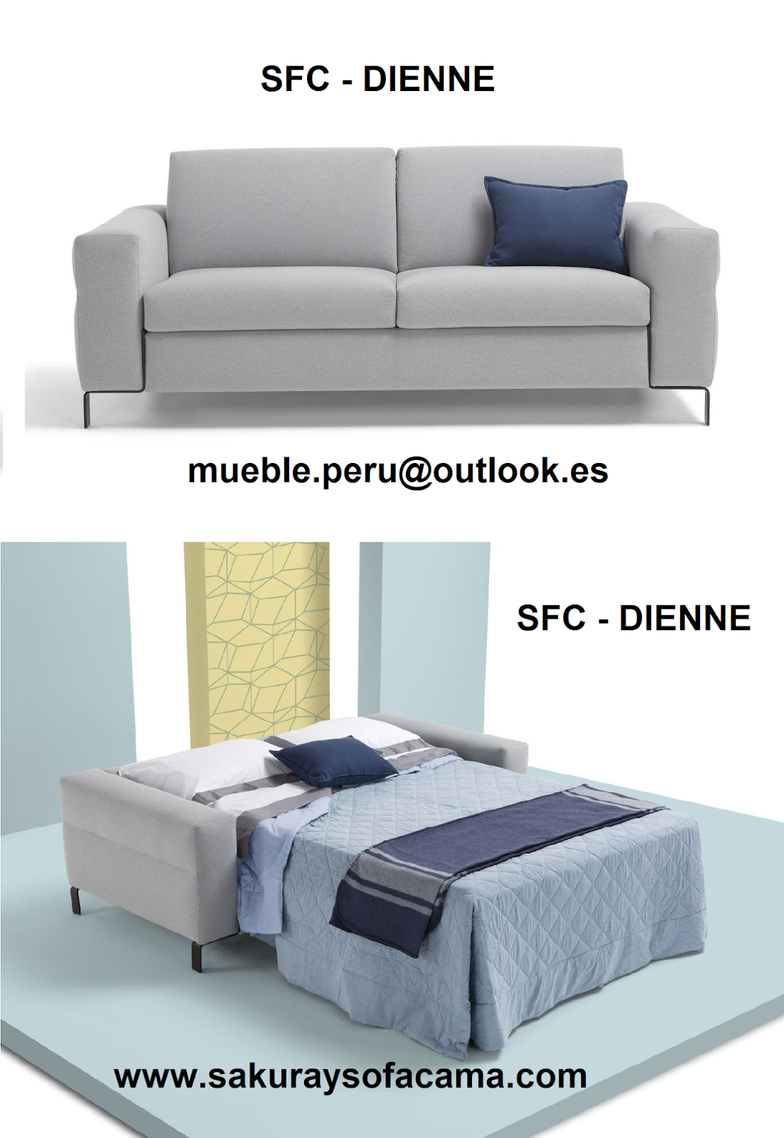 Sofa Sfc King Furniture Felix Mueble Peru Sakuray Cama Americano Dienne