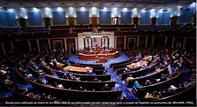 Congresso americano certifica vitória de Joe Biden nas eleições americanas