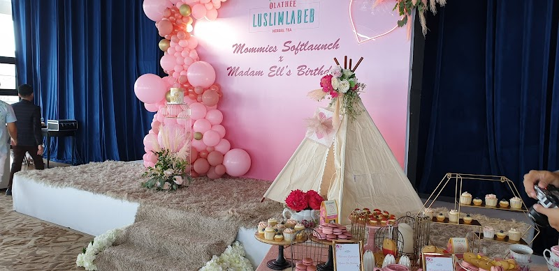 Olathee Luslimlabeb Herbal Tea - Mommies Soft Launch X Madam Ell's Birthday, Boraombak Putrajaya
