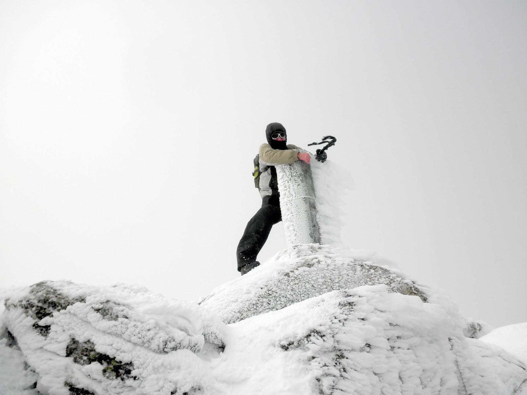 La Najarra, iniciación montaña invernal