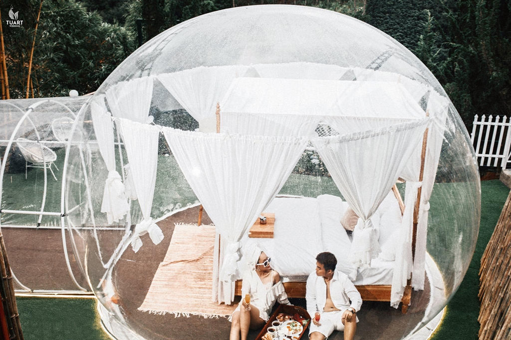 Beautiful Transparent Bubble Hotel Like In Bali Just Appeared In