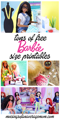 Free printables for Barbie