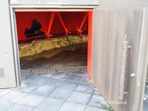 閻魔堂の入り口