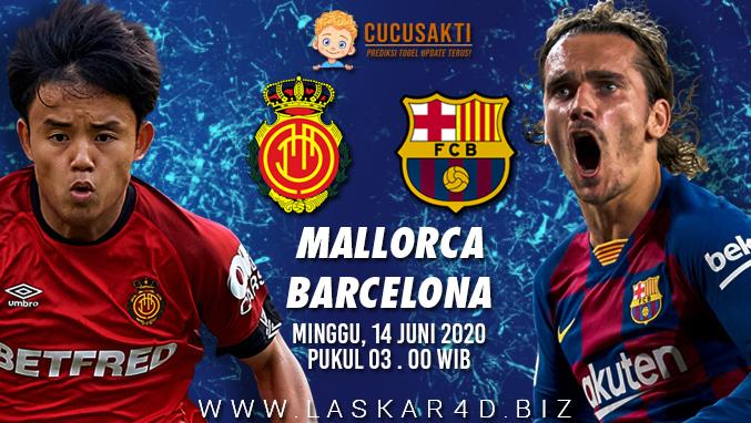 Prediksi Bola Real Mallorca vs Barcelona Minggu 14 Juni 2020