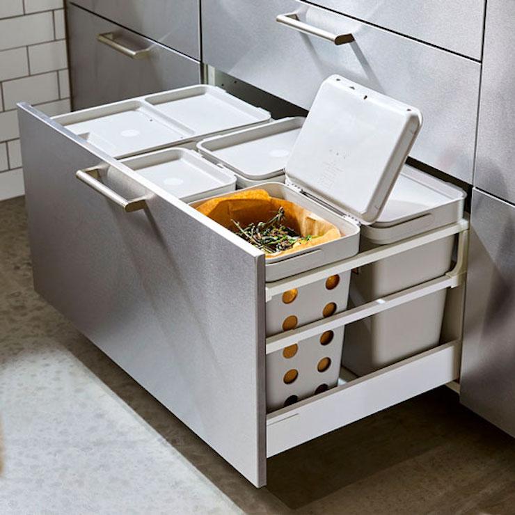 Recipientes para compost IKEA 21.