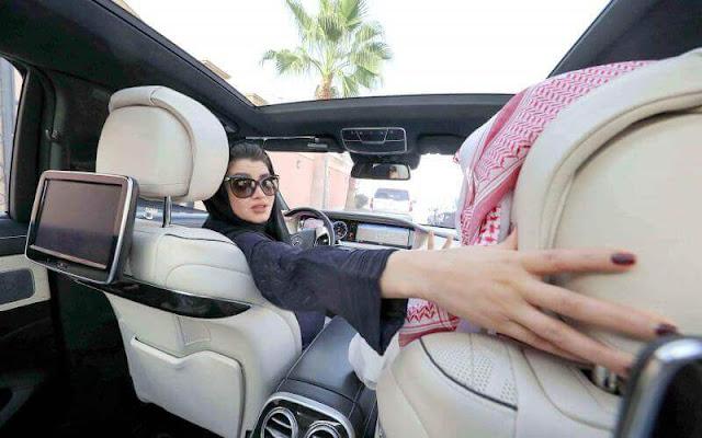 مميزات تعلم المرأة قيادة السيارات