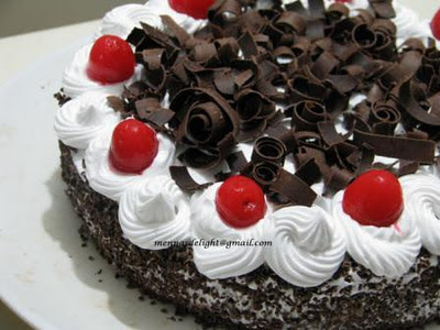Foodie Delights Bangalore Life N Spice Black Forest Pastry