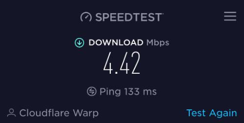 Warp speed prove
