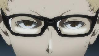 ハイキュー!! アニメ3期4話 | 月島蛍 Kei Tsukishima CV. 内山昂輝 | Karasuno vs Shiratorizawa | HAIKYU!! Season3