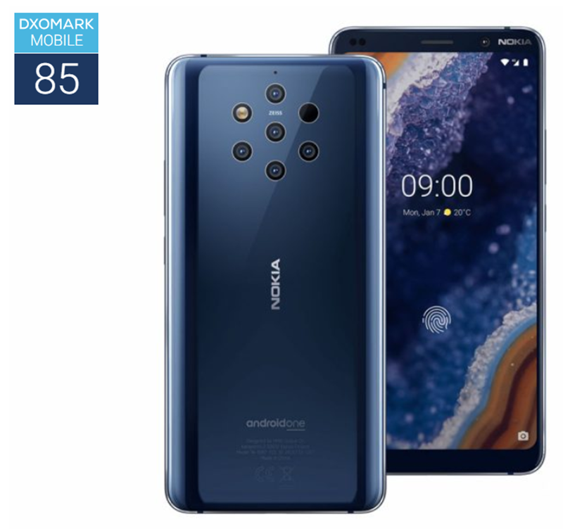 DxOMark: Nokia 9 PureView scores 85 points, terrible for a flagship