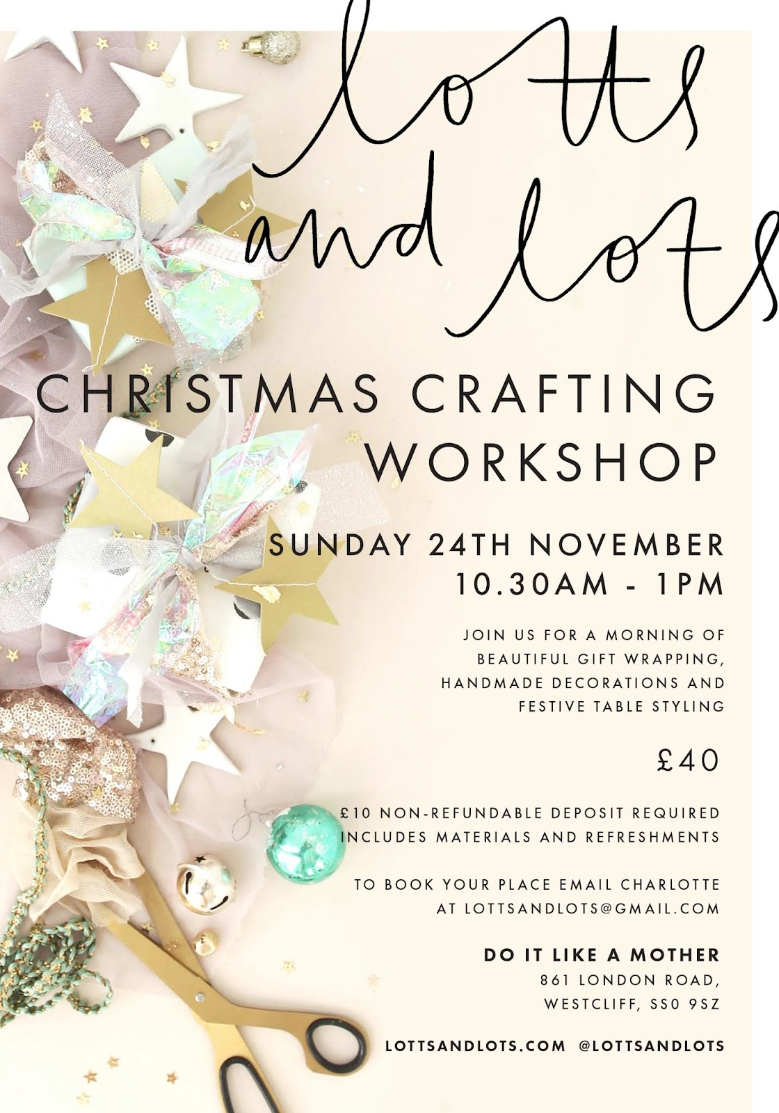 Christmas Crafting Workshop