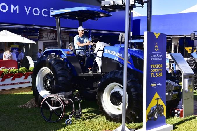 New Holland leva à Expodireto conceito de trator acessível