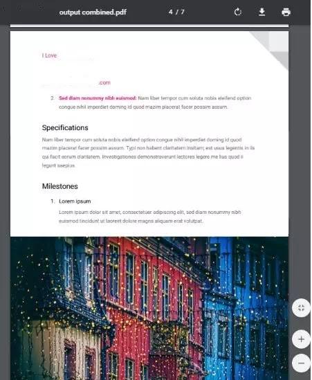 Membuat PDF dengan menggabungkan beberapa file-2